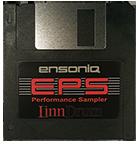 LinnDrum Sample Disk for Ensoniq EPS, EPS16+, and ASR-10 - $11