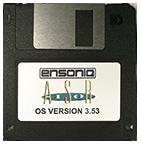 Ensoniq ASR-10 Operating System Disk V 3.53 OS Boot Disk - $8