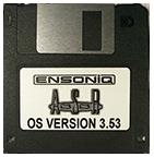Ensoniq ASR-88 Operating System OS Boot Disk V 3.53 OS - $8