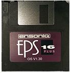 Ensoniq EPS 16+ Operating System Disk  V 1.30 OS - $8