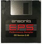 Ensoniq EPS Operating System Disk V 2.49 OS - $8
