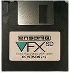 Ensoniq VFX SD Sequencer Operating System Disk v 2.10 OS - $8
