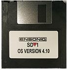 Ensoniq SD1 Operating System Disk  V 4.10 Sequencer OS - $8