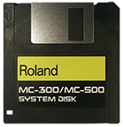 ROLAND MC-300 MC-500 Operating System Startup Disk OS Boot Boot - $8