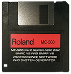 ROLAND MC-500 MK2 Super MRP Disk Boot OS Operating System - $8