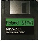 ROLAND MV-30 Operating System Startup Disk V 1.09.1 OS Boot - $8