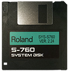 roland s-760 system disk for $8 - ROLAND S-760 Operating System Startup Disk V 2.24 OS Boot with SUPER FAST SHIPPING FROM NY!