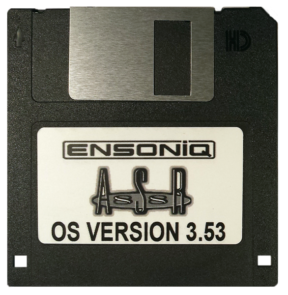 $8 - Ensoniq ASR 88 Boot Disk v 3.53 - OS operating System with $3 SUPER FAST SHIPPING and E-Z Paypal checkout!
