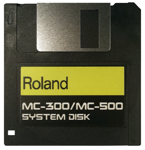 $8 - ROLAND MC-300 MC-500 System Startup Disk with E-Z PayPal Checkout and super fast shipping!