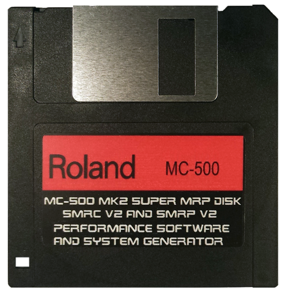 $8 - Roland MC-500 MK2 Super MRP OS Disk Performance Software and System Generator (Operating System Boot Disk)  with E-Z PayPal Checkout and super fast shipping!!