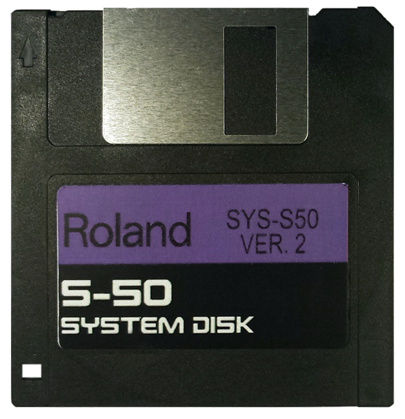 $8 - Roland S-50 System Startup Disk V2 OS boot operating system with E-Z PayPal Checkout and super fast shipping!