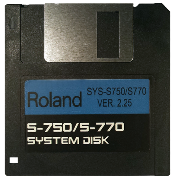 $8 - ROLAND S-750 S-770 OS Startup Disk Operating System Boot with E-Z PayPal Checkout and super fast shipping!
