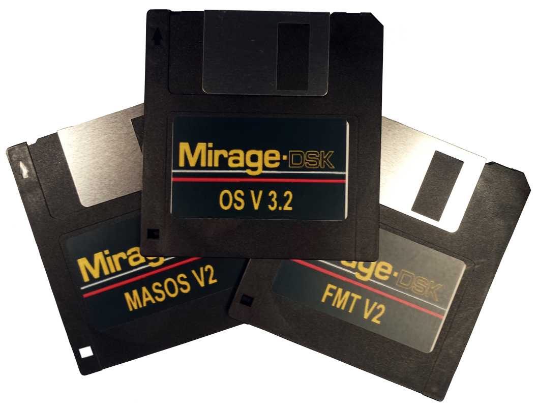 Buy $8 - Ensoniq Mirage 3 Disk Set Operating System BOOT OS MASOS FMT2 Buy Ensoniq Mirage 3 Disk Set Operating System OS, 